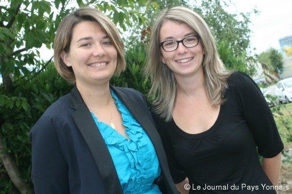Chez Focsie (de gauche  droite, Pauline Ler et Pauline Jamonneau) on intervient au coeur des entreprises pour favoriser le bien-tre au travail.